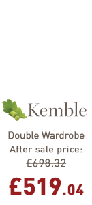 Kemble Double Wardrobe