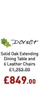 "Dorset 4ft 7"" Extending Dining Set"