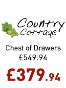 Country Cottage Chest of Drawers