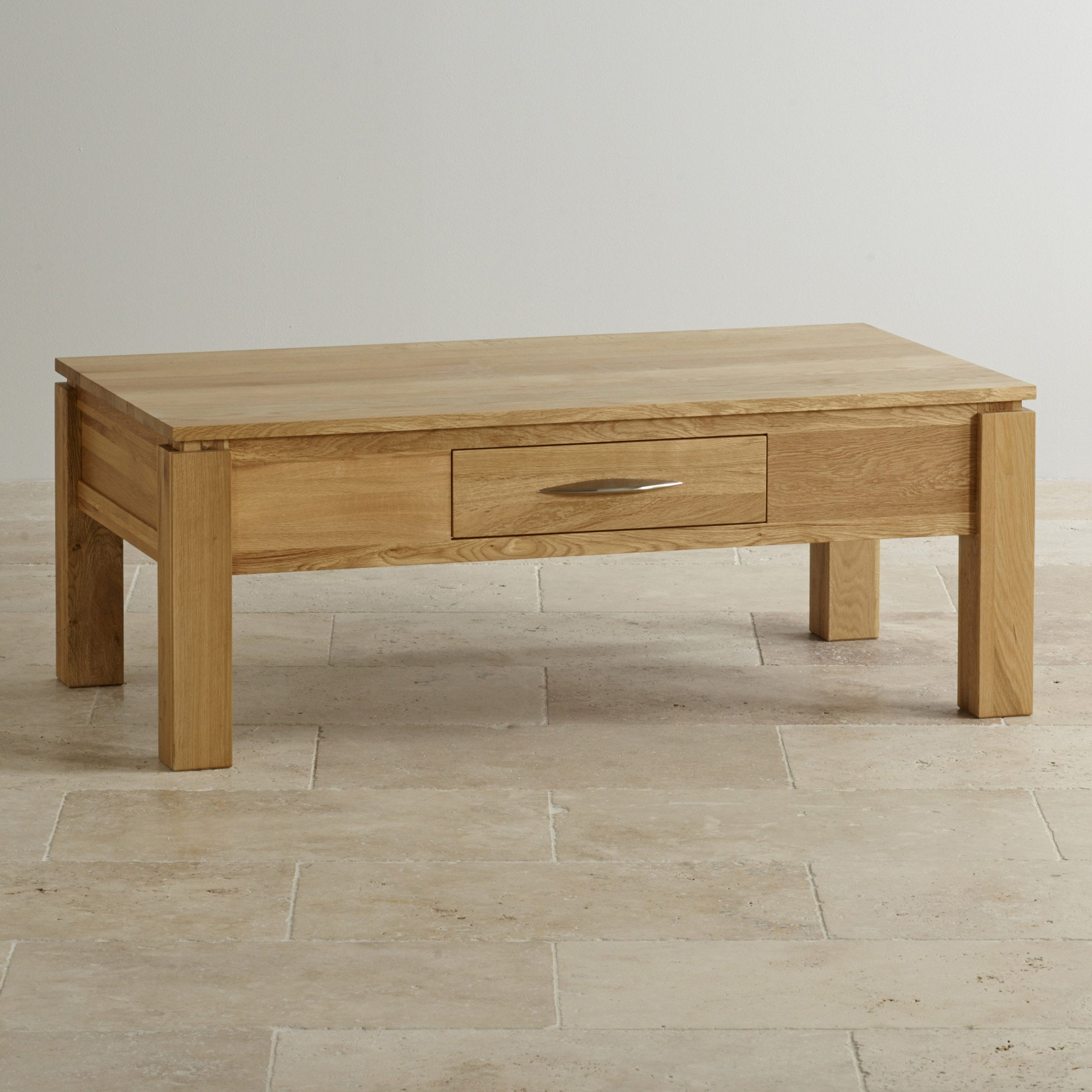 Galway Large Coffee Table In Solid Oak