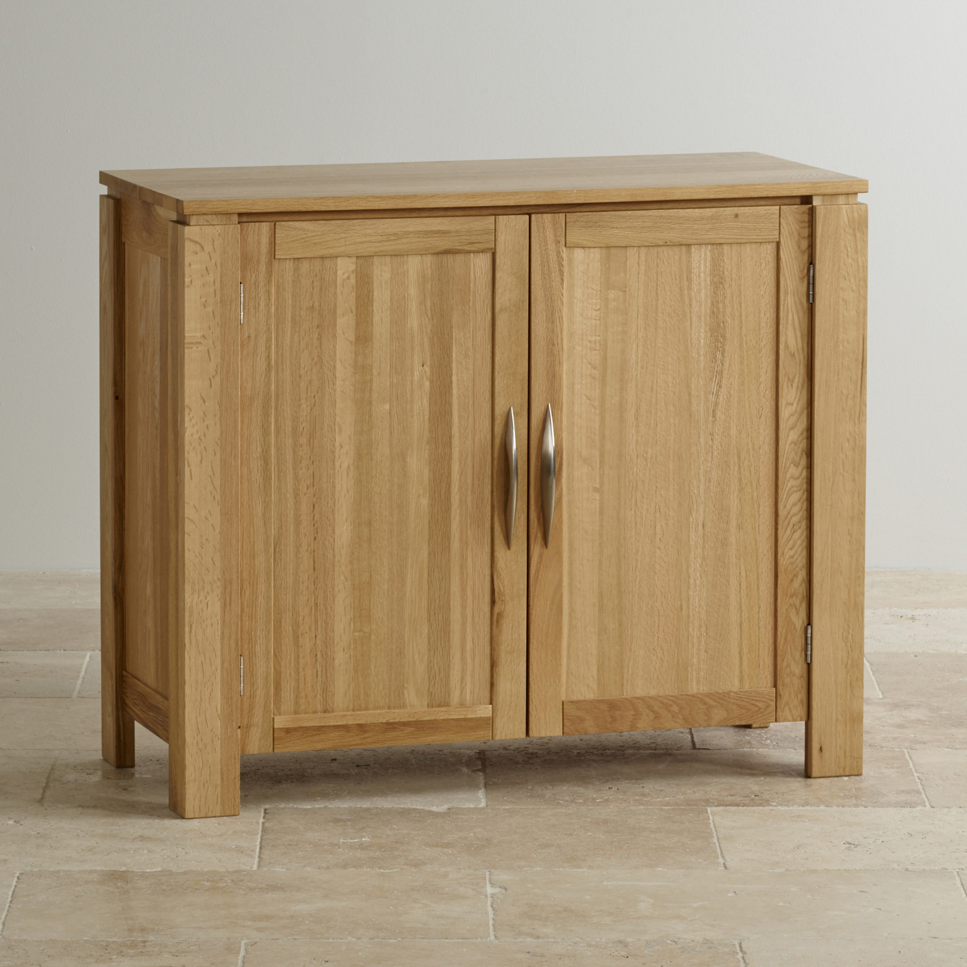 Galway small sideboard in natural solid oak