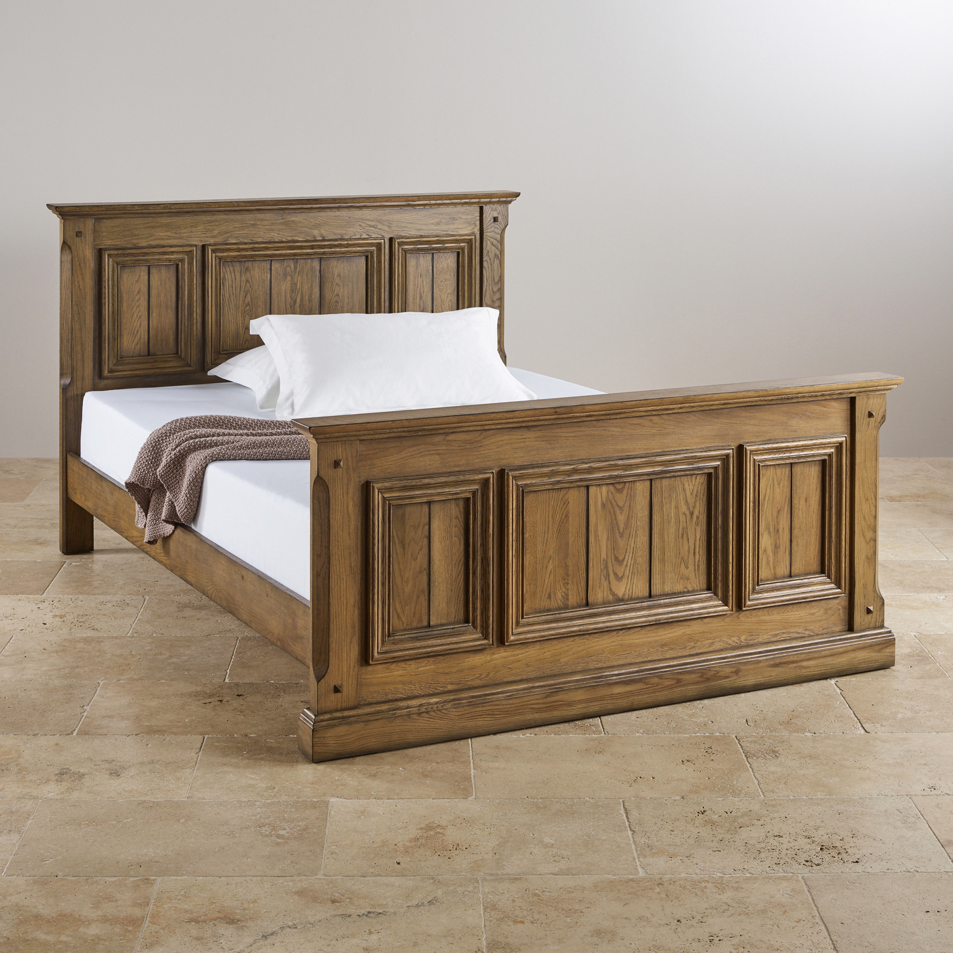 Solid Wood Bedroom Suites Oak Super King Size Beds Bedroom Furniture Oak Furniture Land