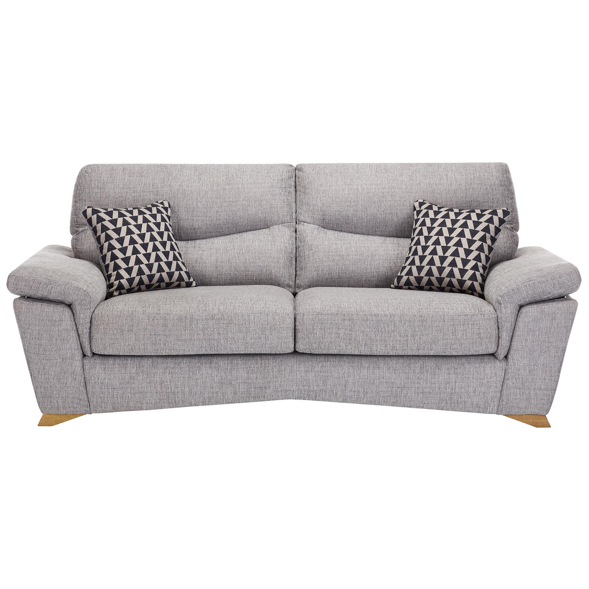 Marbella Bedroom Furniture Marbella Storage Footstool Sofa In Hamilton Silver With Kent Black