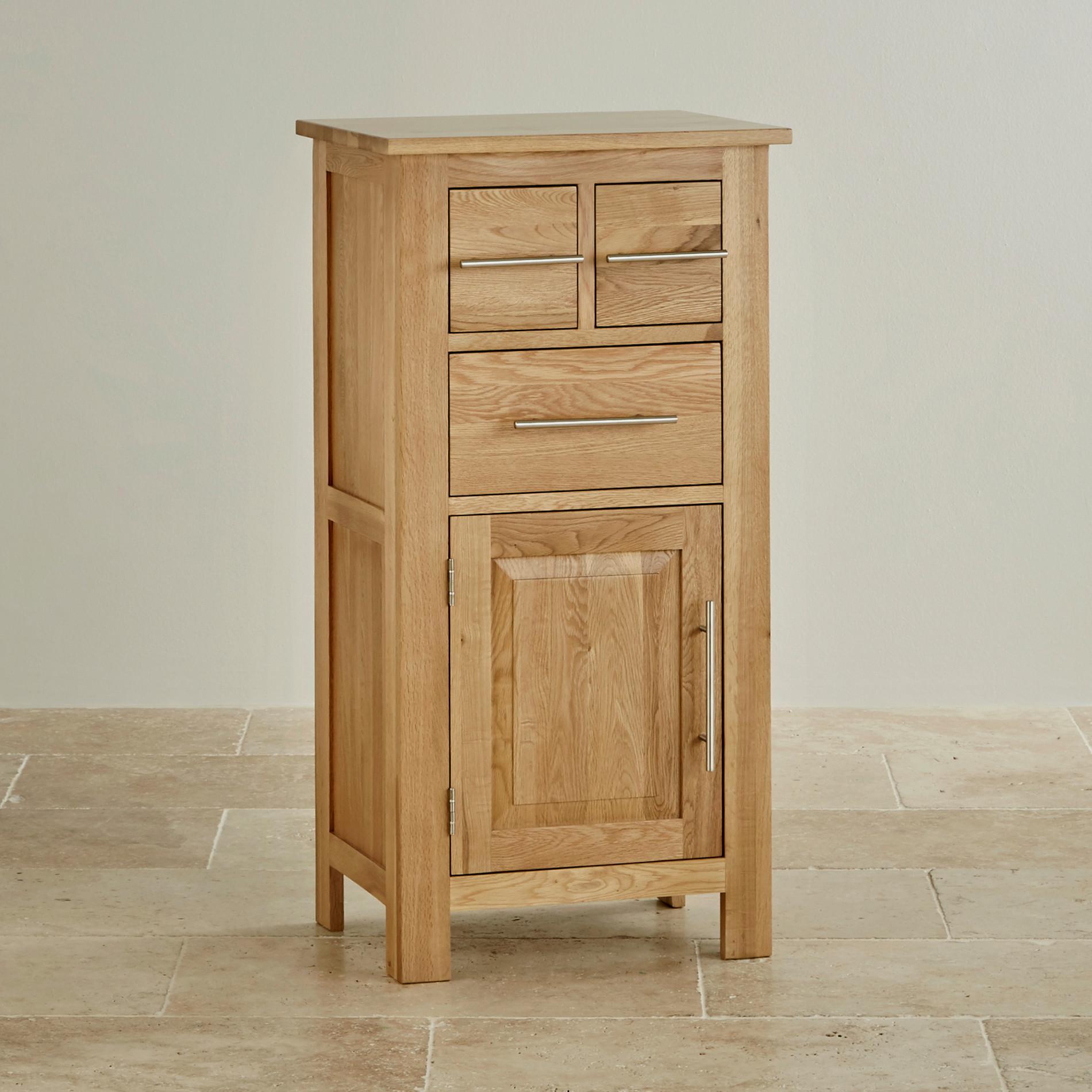 rivermead solid oak storage unit by oak furniture land