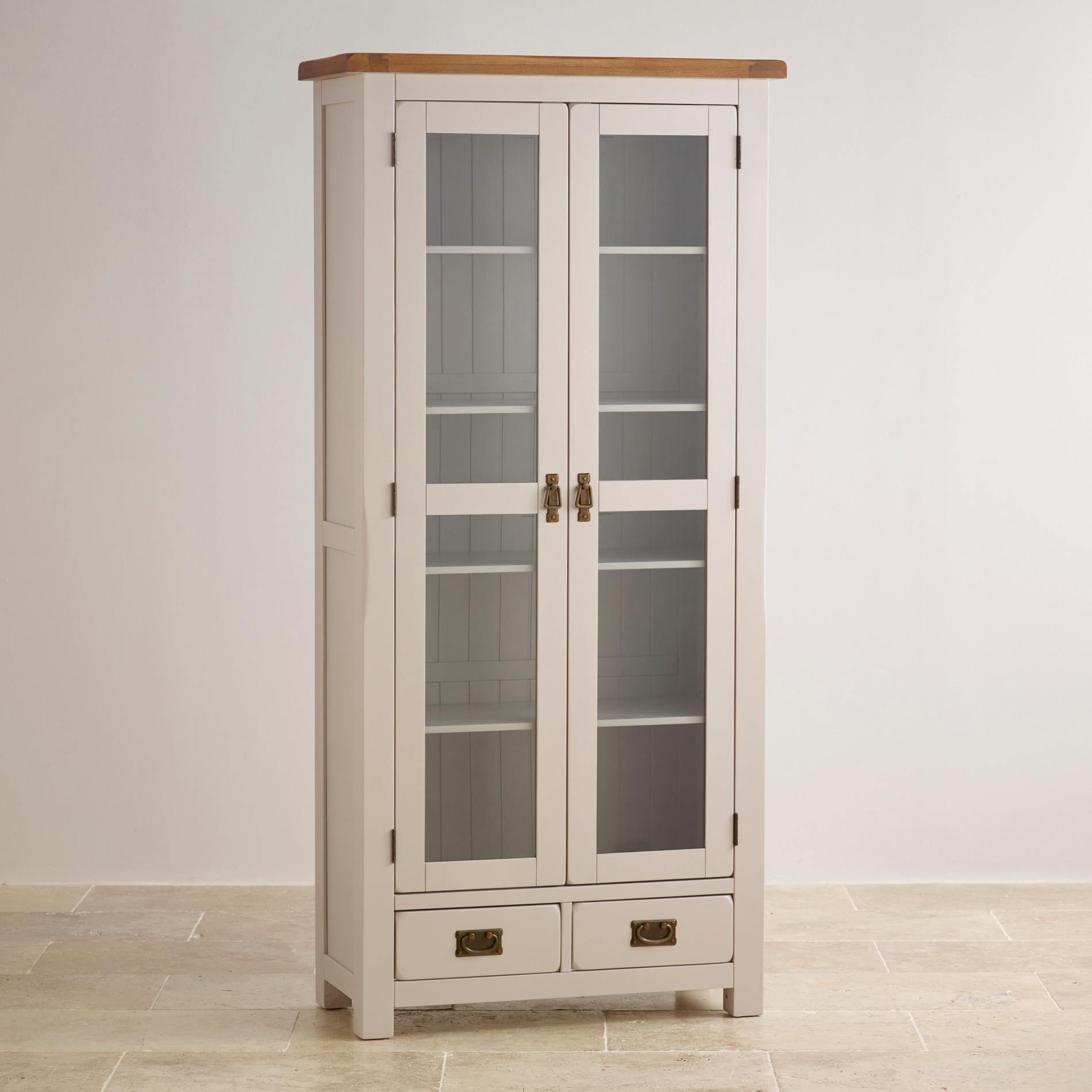Glazed Kitchen Cupboard Doors Display Cabinets Oak Furniture Land