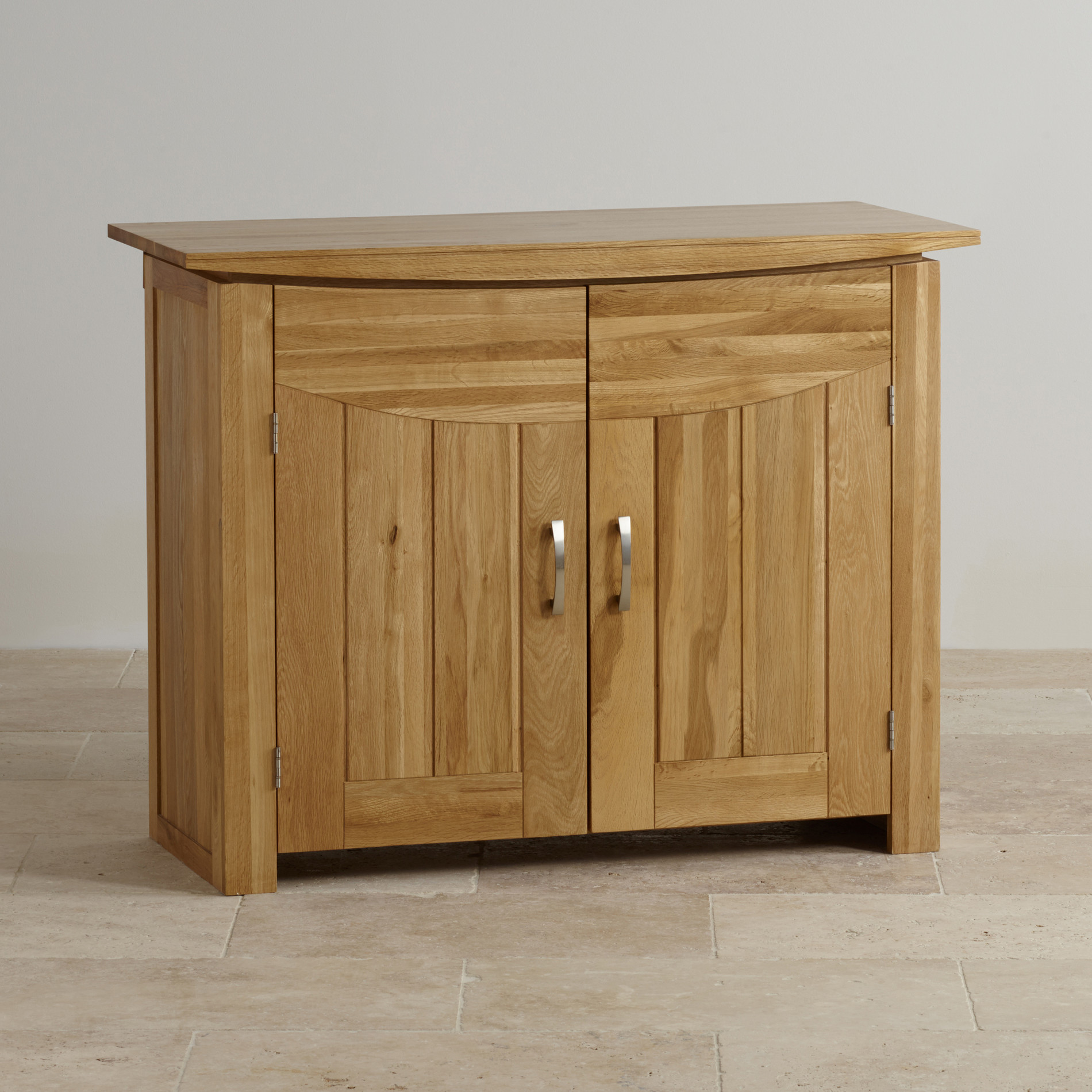 Tokyo small sideboard in natural solid oak oak furniture for Oak furniture land