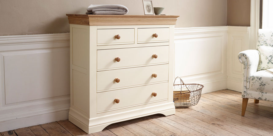 Country Cottage 3+2 Chest of Drawers