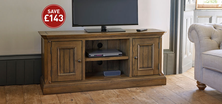 Manor House Large TV Cabinet