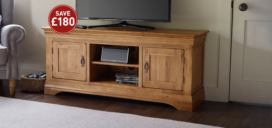 French Farmhouse Large TV Cabinet