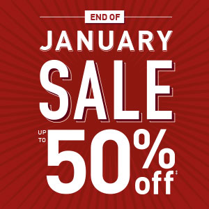 End of January Sale