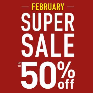 February Super Sale