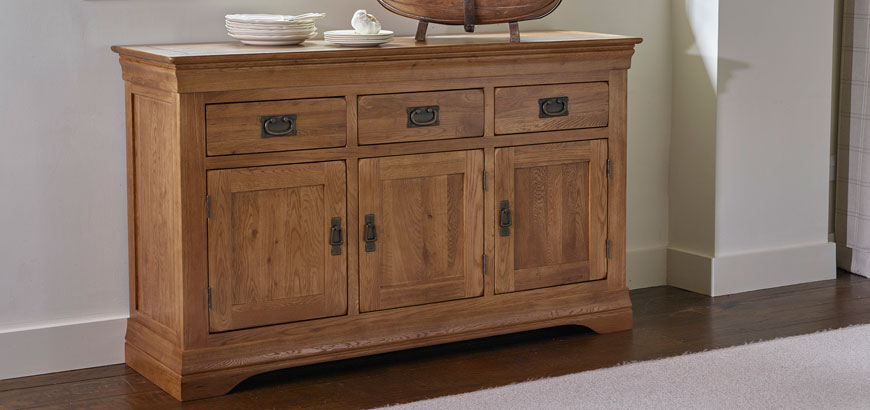 French Farmhouse Large Sideboard