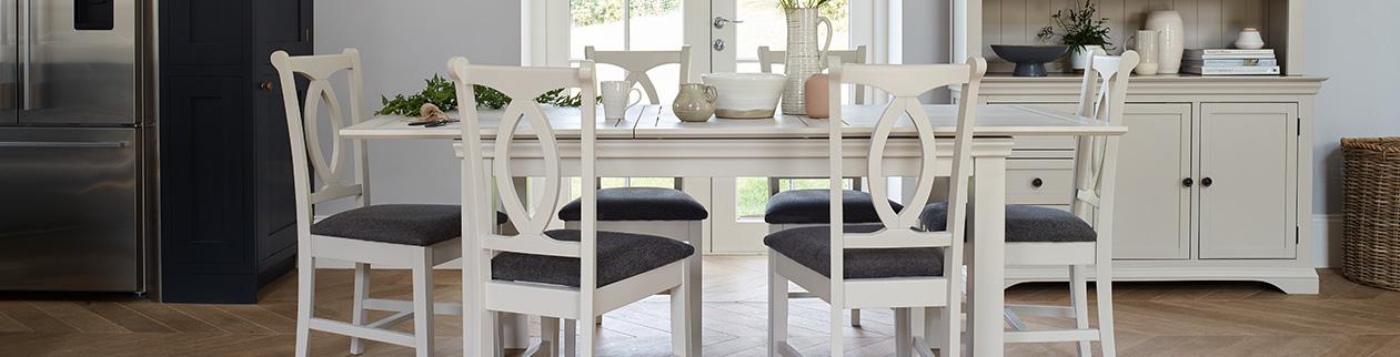 How To Style Grey Dining Room Furniture Oak Furnitureland