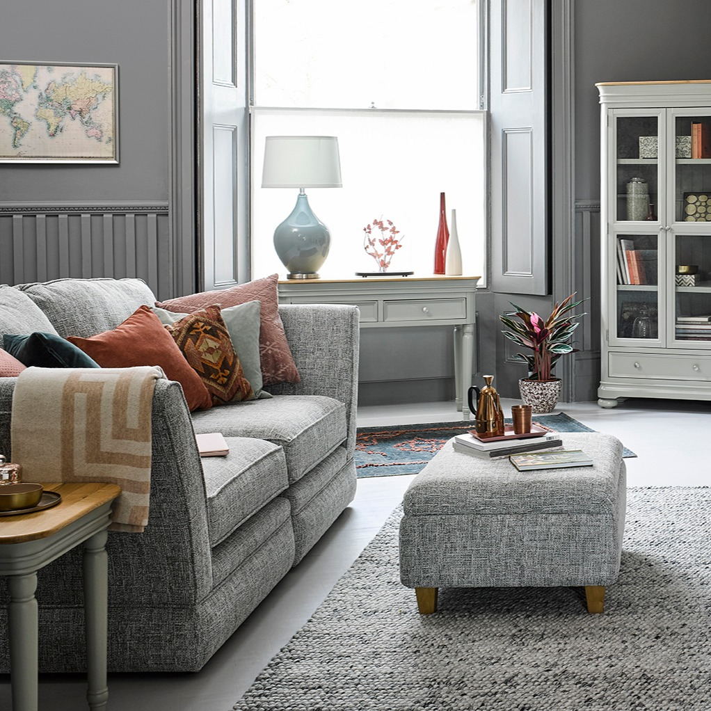 How To Style A Grey Sofa