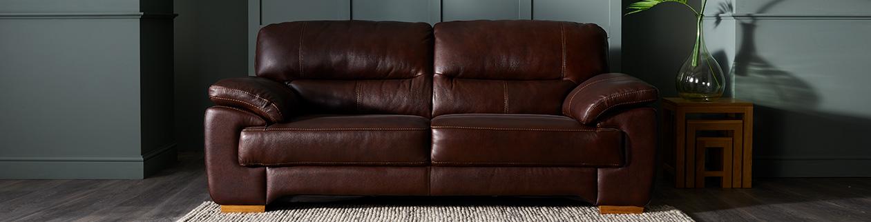 Mixing leather and fabric sofas | Oak Furnitureland