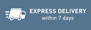 Express delivery within 7 days
