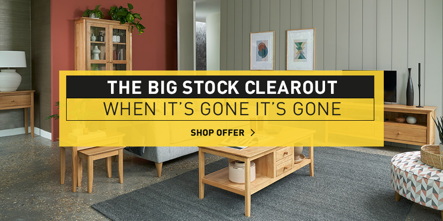The Big Stock Clearout - Now On