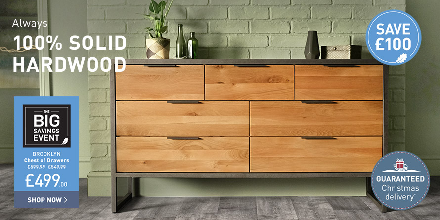 Brooklyn 3+4 chest of drawers