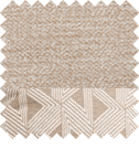 Linen with Bamboo Taupe