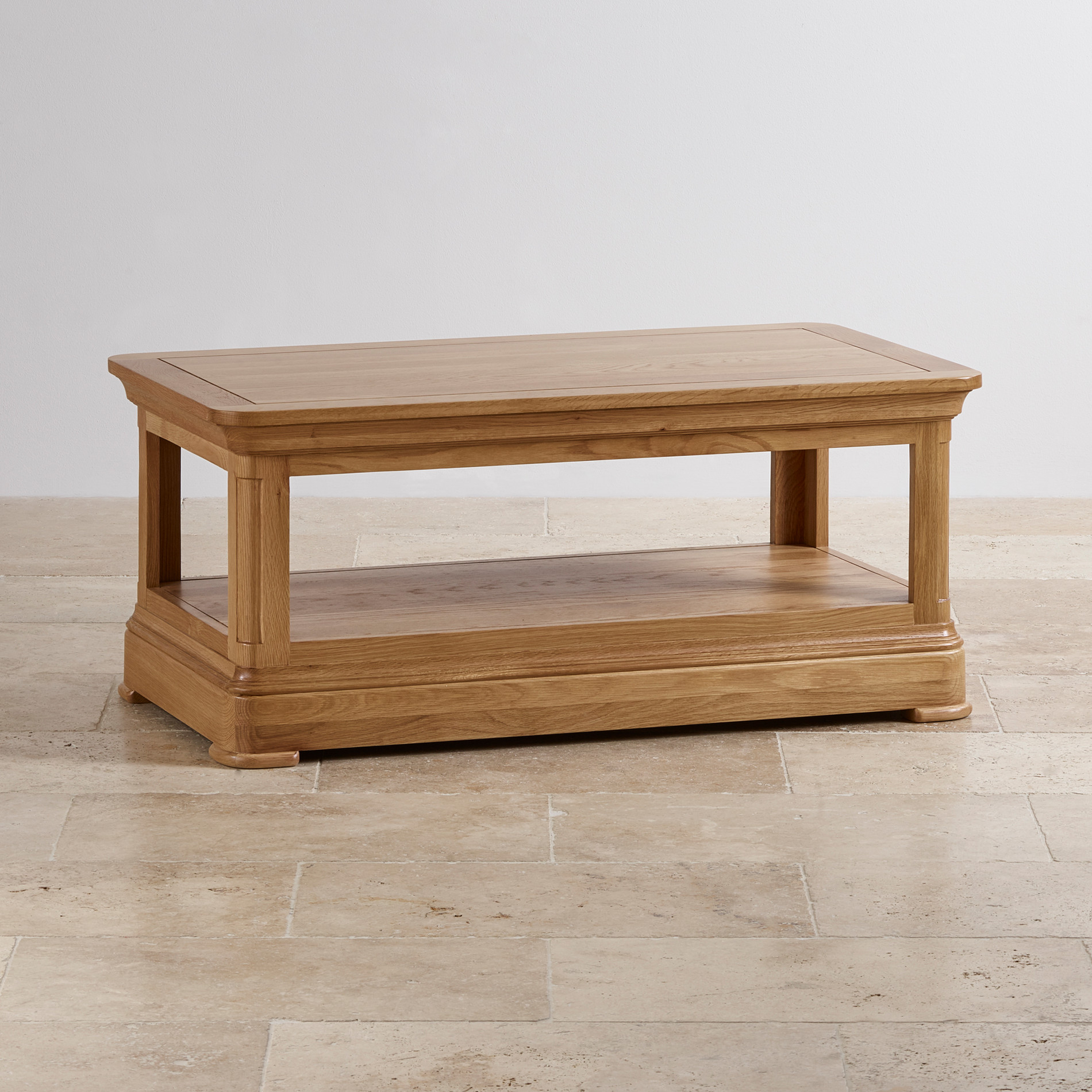 Coffee tables free delivery available oak furniture land canterbury natural solid oak coffee table geotapseo Image collections