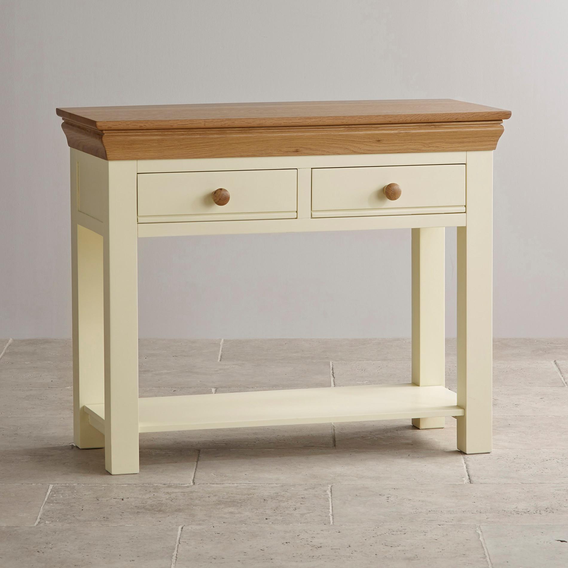 painted console table. Painted Console Table D