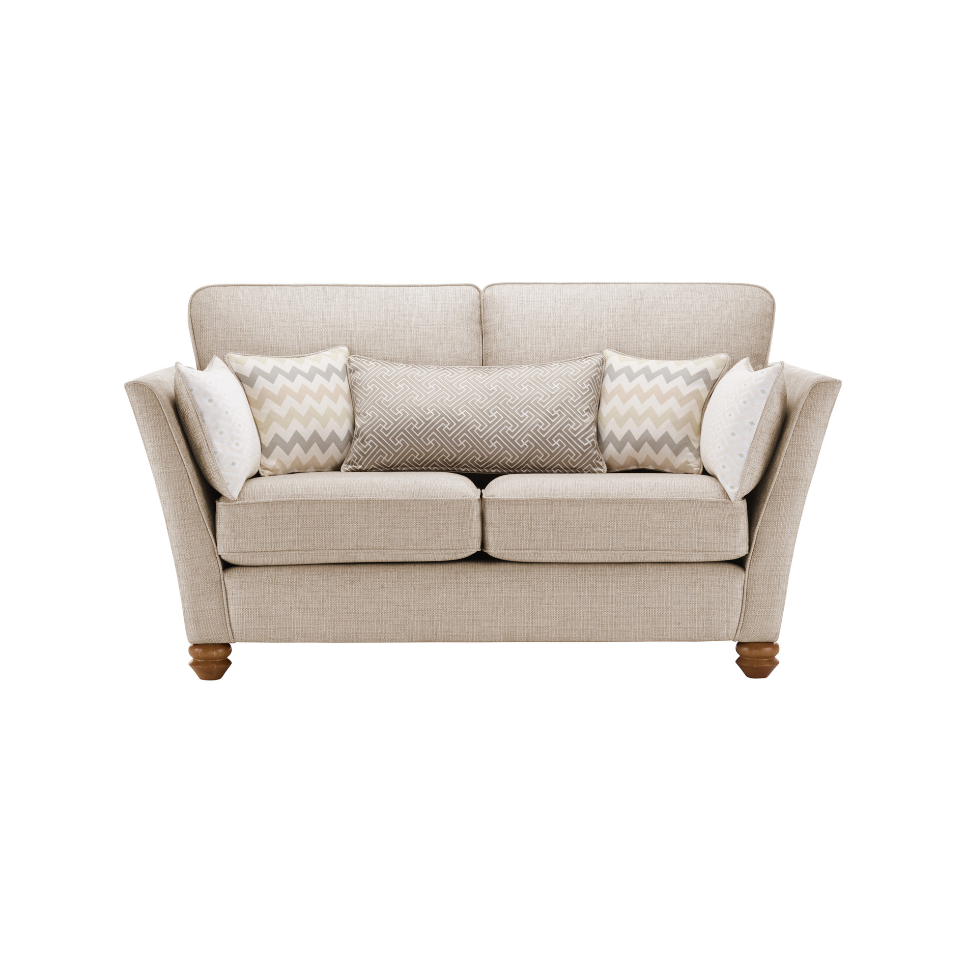 Gainsborough 2 seater sofa in beige by oak furniture land for Sofa 8 seater