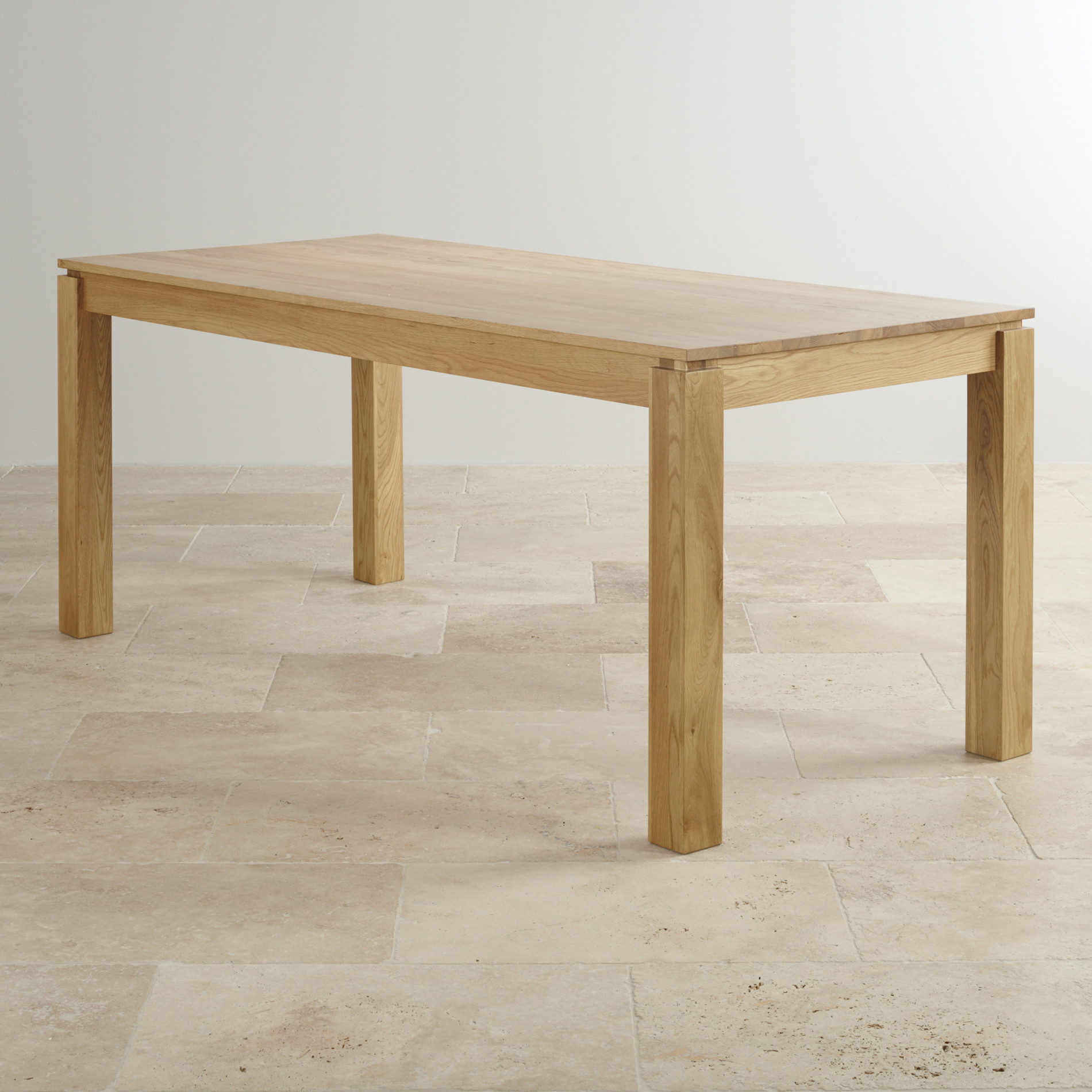 """Galway 6ft x 2ft 8"""" Natural Solid Oak Table"""