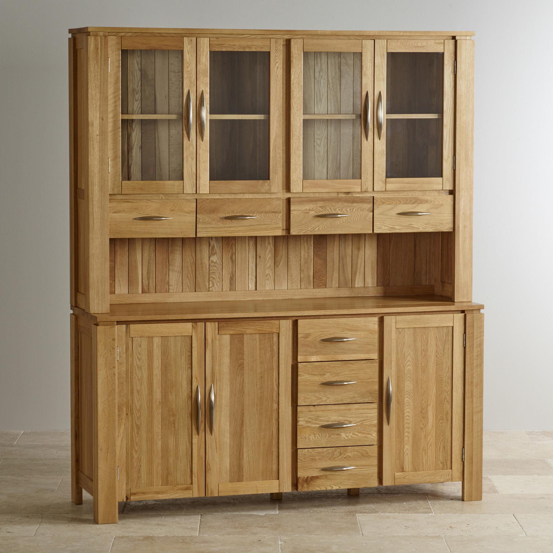 Vaisselier En Chene: Galway Natural Solid Oak Large Dresser By Oak Furniture Land
