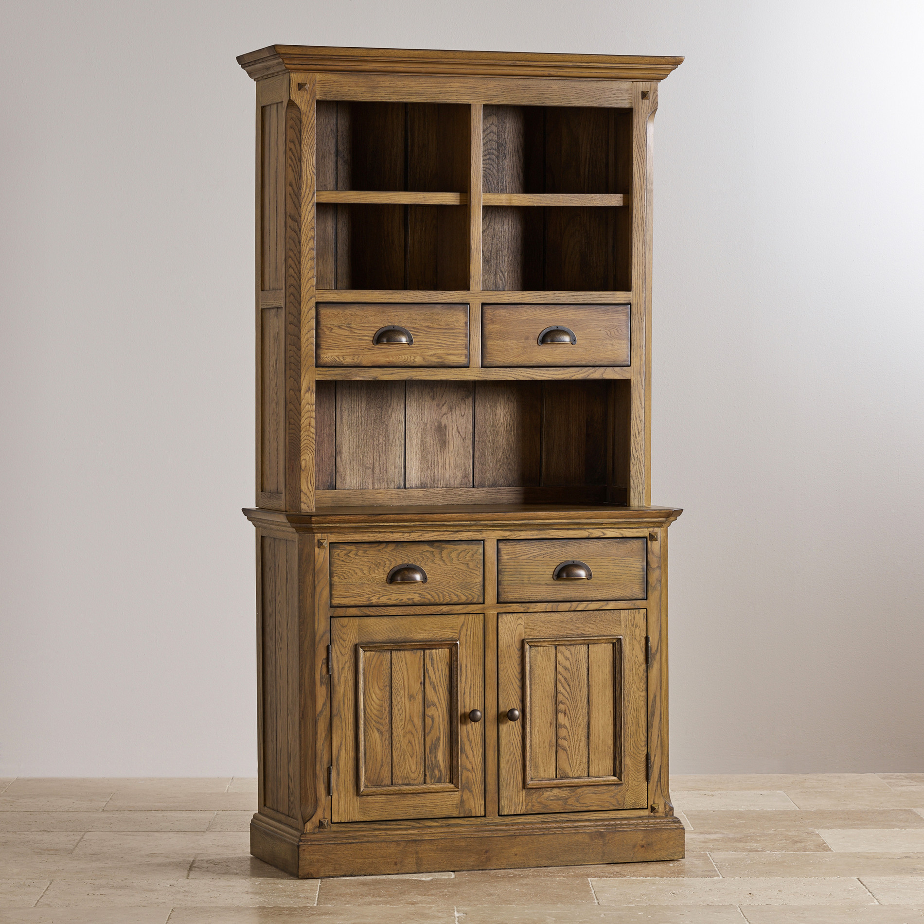 Express Delivery Manor House Vintage Solid Oak Small Dresser