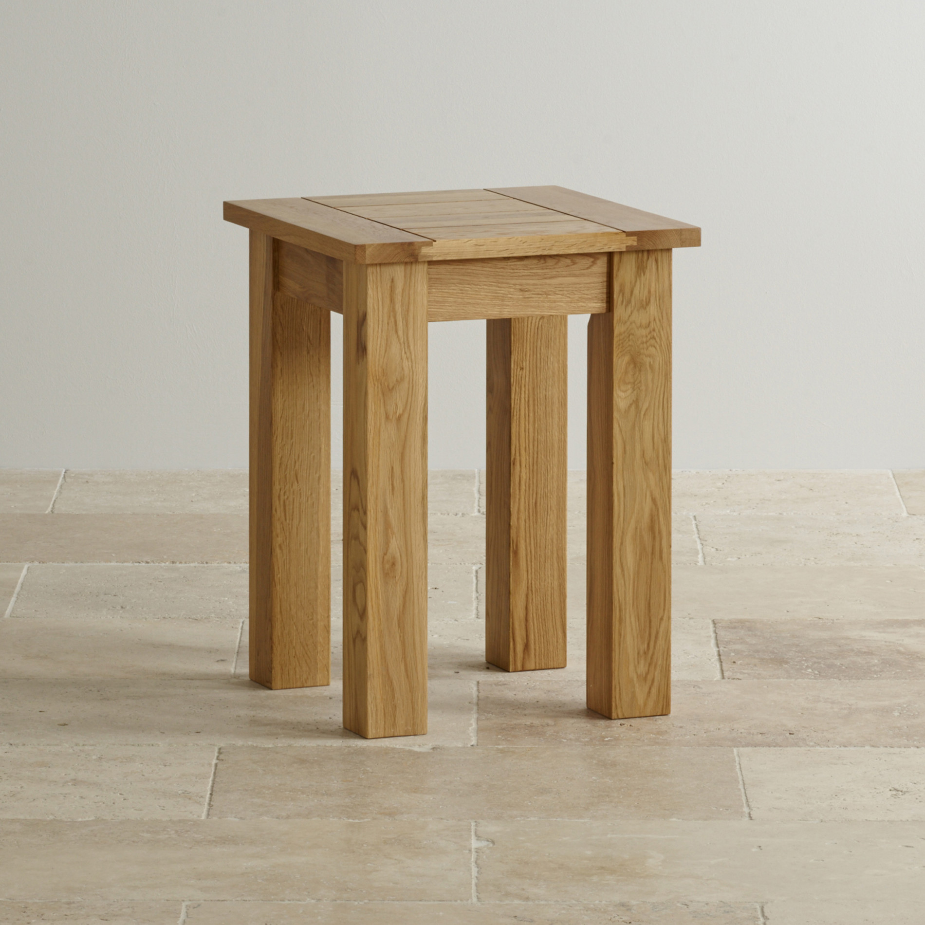 Contemporary natural solid oak lamp table oak furniture land mozeypictures Choice Image