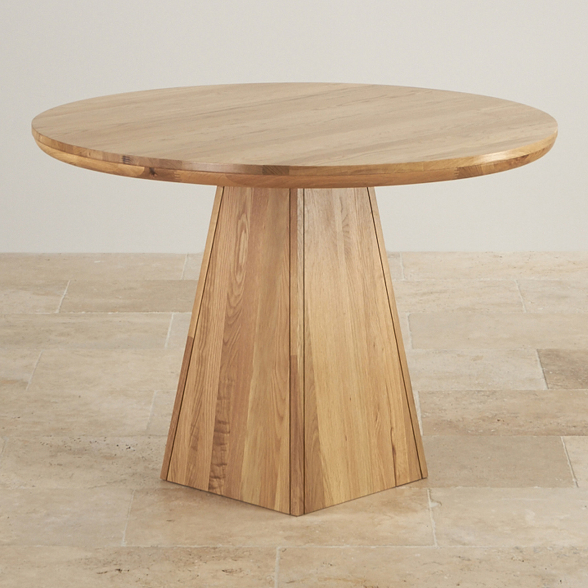 Round Oak Dining Table Part - 47: Oak Furniture Land