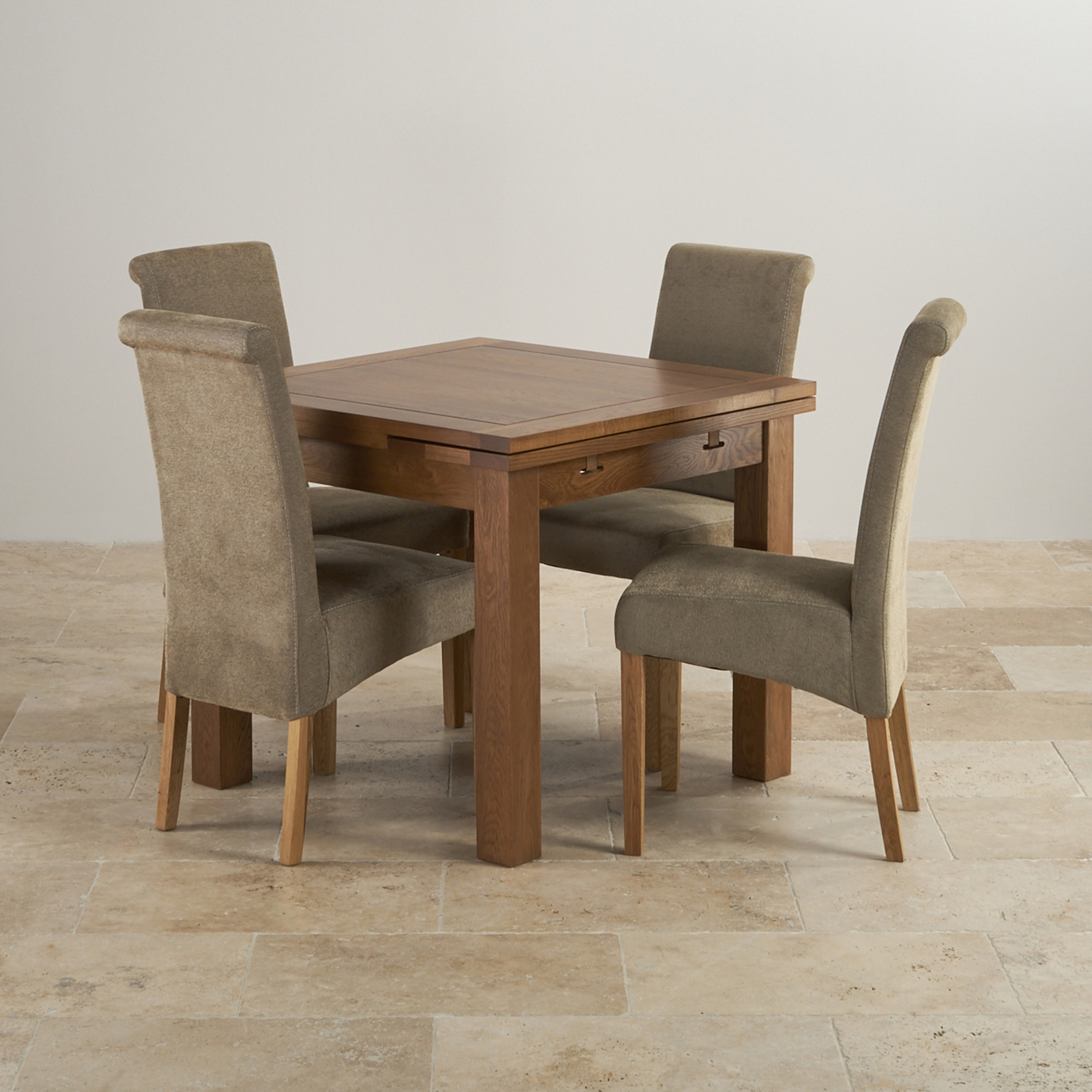 Rustic Dining Set in Real Oak Extending Table 4 Sage Chairs : rustic solid oak dining set 3ft extending table with 4 scroll back plain sage fabric chairs 56f2c60d505f2 from www.oakfurnitureland.co.uk size 1900 x 1900 jpeg 536kB