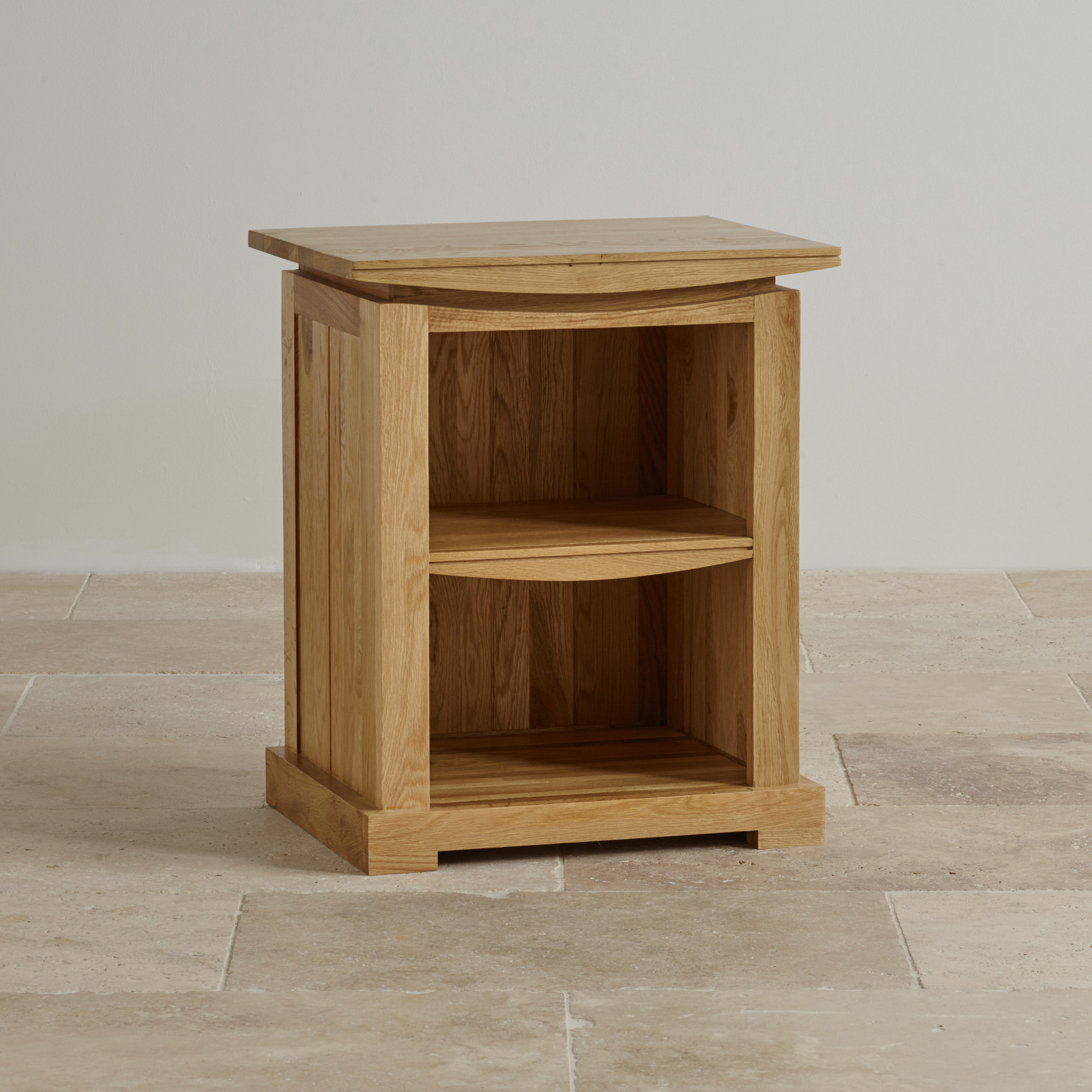 Tokyo Bedside Table In Natural Solid Oak Oak Furniture Land
