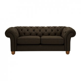 Chesterfield 2 Seater Sofa in Orchid Brown