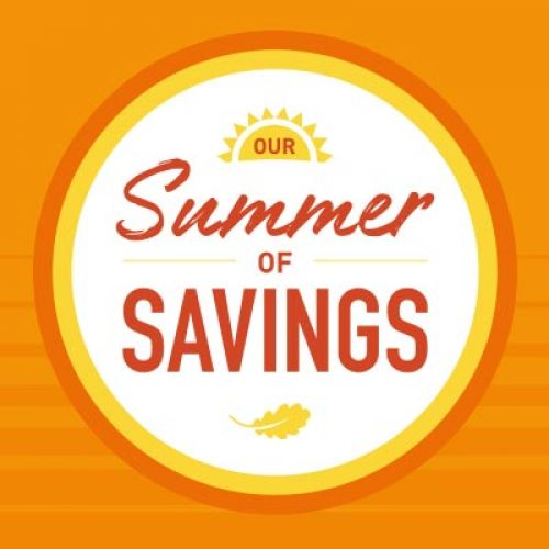 Our Summer of Savings