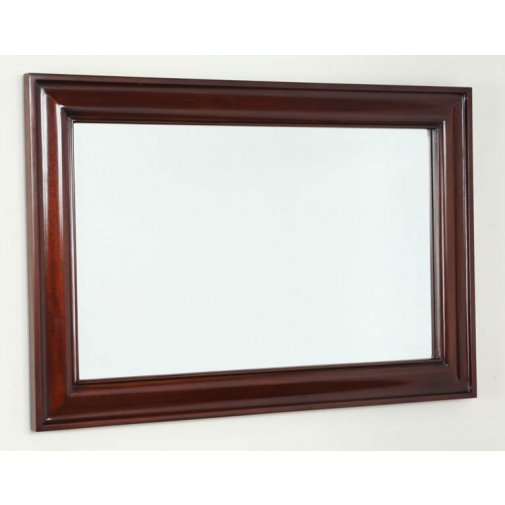 Solid Mahogany 900mm x 600mm Wall Mirror