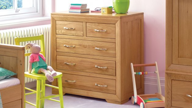 Nursery Chest of Drawers