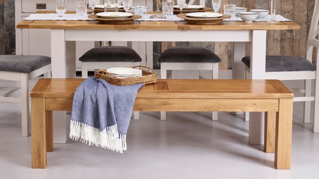 Oak Benches and Stools