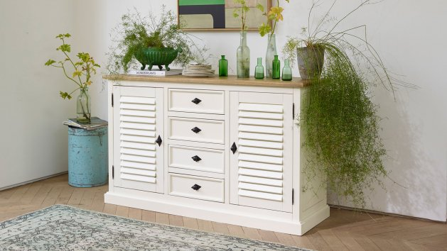Painted and Mango Sideboards