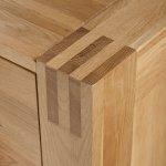 Alto Natural Solid Oak 5 Drawer Tallboy - Thumbnail 5