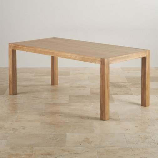 Alto Natural Solid Oak 6ft x 3ft Dining Table