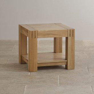 Alto Natural Solid Oak Bedside Table