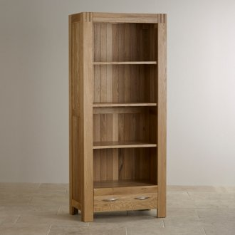 Alto Natural Solid Oak Tall Bookcase