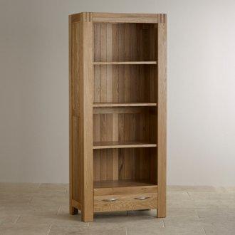 Alto Natural Solid Oak Tall Bookcase