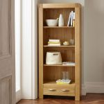 Alto Natural Solid Oak Tall Bookcase - Thumbnail 3