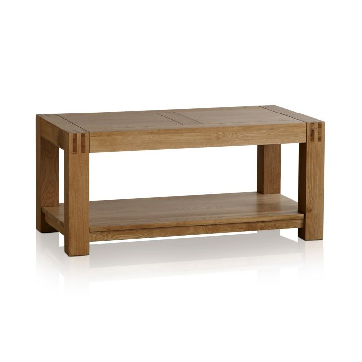 Alto Natural Solid Oak Coffee Table - Image 5