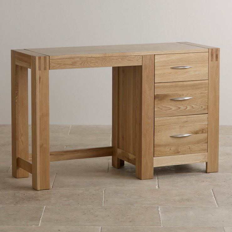 Alto Natural Solid Oak Dressing Table - Image 5