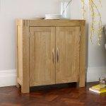 Alto Natural Solid Oak Media Storage Unit - Thumbnail 2