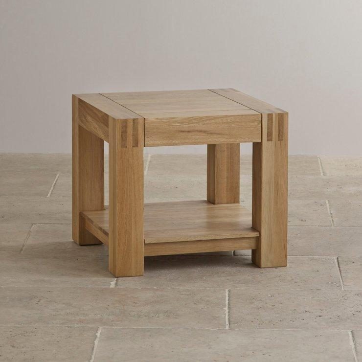 Alto Natural Solid Oak Side Table