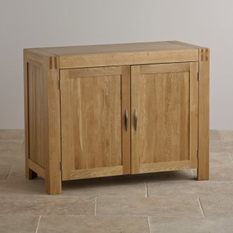 Alto Natural Solid Oak Small Sideboard
